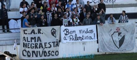 A Claque do Clube Atlético Riachense