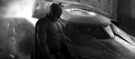 Ben Affleck, impersonating the newest Batman.