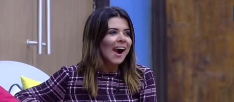 Mara Maravilha no 'Domingo Show'