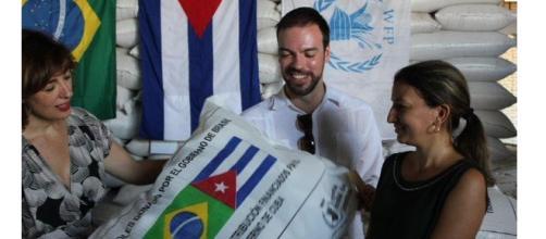 Brasil doa alimentos para Cuba/PMA/Divulgação.