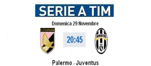 Diretta live Palermo - Juventus