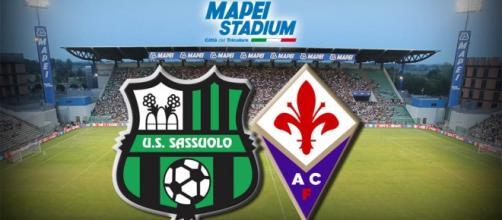Diretta Sassuolo - Fiorentina live