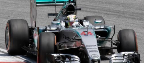 La Mercedes F1 W06 vincitrice del campionato 2015
