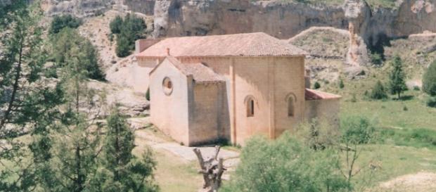 El cañon del río Lobos. Ermita templaria.