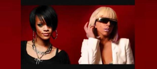 Fãs comemoram Feat de Rihanna e Lagy Gaga