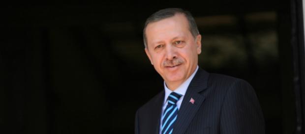 Il presidente della Turchia, Recep Tayyip Erdoğan.