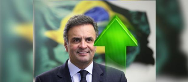 Maioria dos brasileiros quer Aécio na presidência