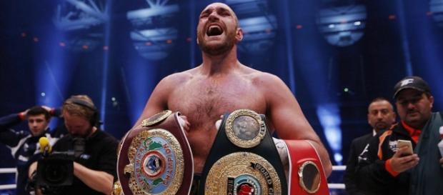 Tyson Furry i-a luat ucraineanului toate centurile
