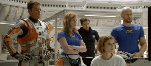 El equipo de astronautas de 'Marte (The Martian)'