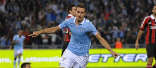 Il centravanti della Lazio, Klose