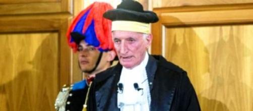 Renato Squitieri, presidente Corte dei Conti
