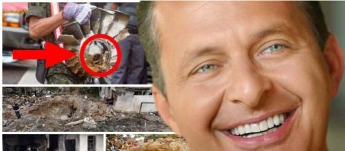 Segundo a pericia bomba teria explodido no avião