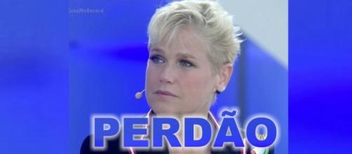 Xuxa Meneghel pede perdão à Record