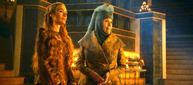 Olenna Tyrell y Cersei Lannister