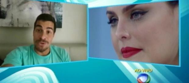 Paloma Bernardi participa do programa da Xuxa