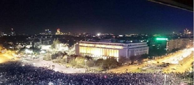 Protest București Sursa fotografie : Facebook