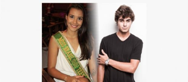 Rafael Vitti está namorando Emili Seixas