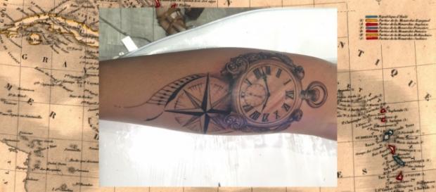 Talita Araújo faz sua 6ª tatuagem