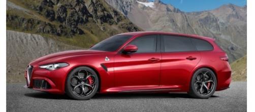 Alfa Romeo Giulia 2016: versione Station Wagon