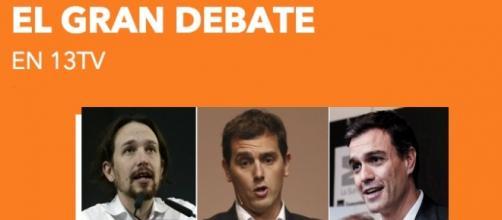 El Gran Debate electoral de 13TV