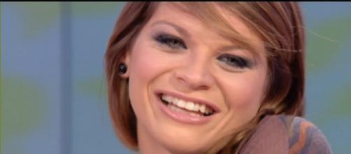 La cantante pugliese Alessandra Amoroso.