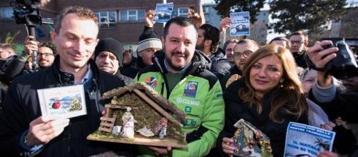Matteo Salvini difende il Natale