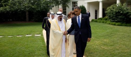 Rei Abdullah da Arábia Saudita Obama (2010)