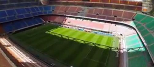 """San Siro, la """"Scala del calcio"""" di Milano"""