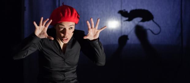 Ana Mena, en su compañía de teatro.