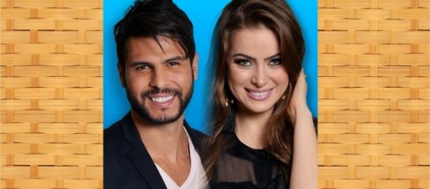 Marcelo Bimbi e Rayanne Morais estão na roça