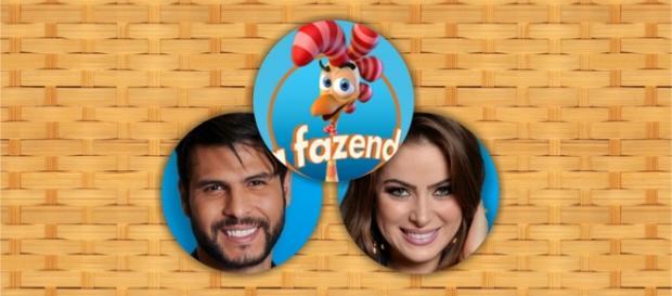 Marcelo e Rayane se enfrentam na roça