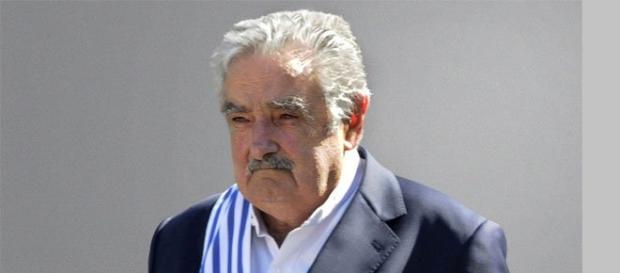 Mujica en un acto cuando era todavía presidente