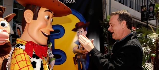 Tom Hanks is the voice-over of Woody