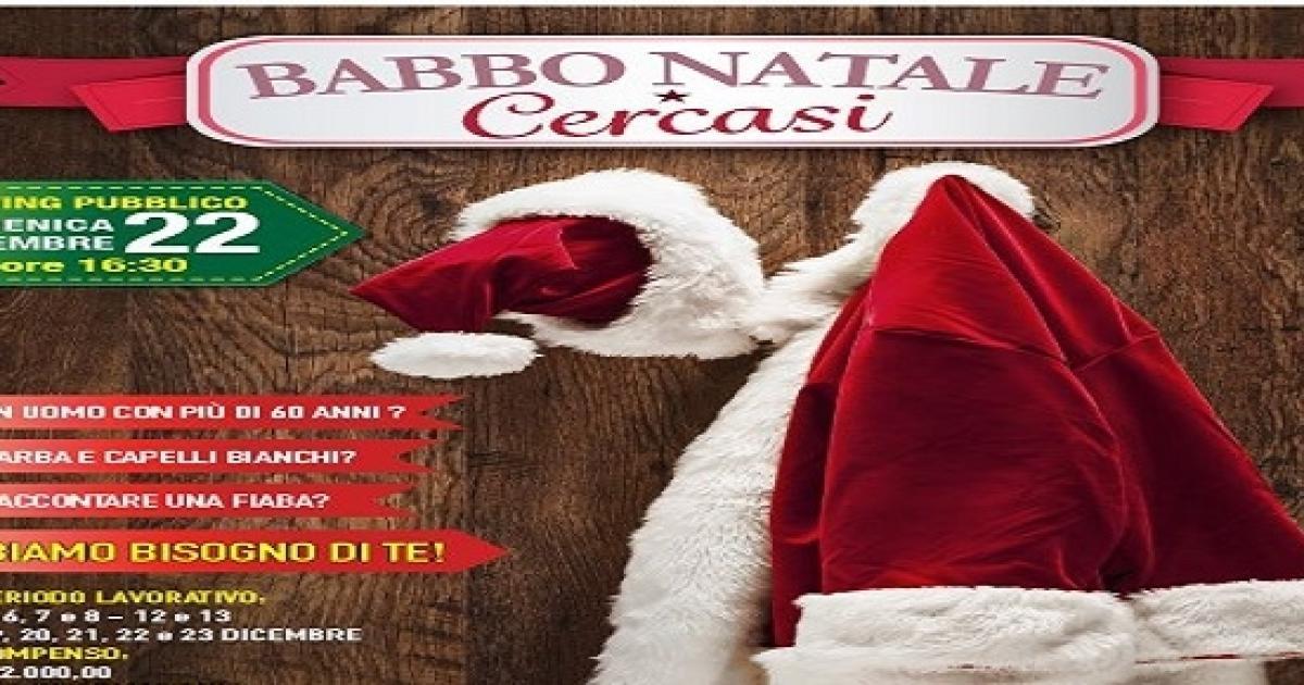 Babbo Natale 8 Dicembre Roma.Santa Claus Cercasi A Roma Est Pagato 2mila Euro Per Lavorare Solo