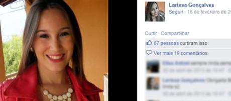 Larissa foi morta por empresário