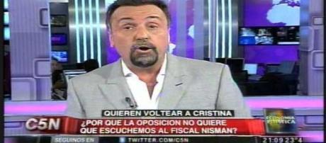 Roberto Navarro, periodista ultra K de C5N