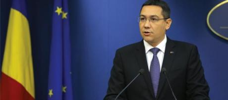 Victor Ponta has announced the resignation