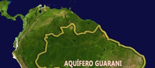 Aquífero Guarani, um dos 37 monitorados no estudo.