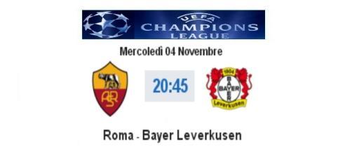 Diretta live Roma - Bayer Leverkusen
