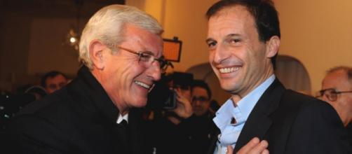 Juventus, Marcello Lippi e Massimiliano Allegri