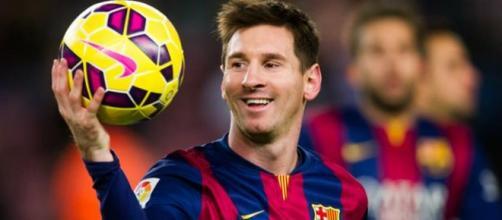 Messi ficou em oitavo lugar no ranking