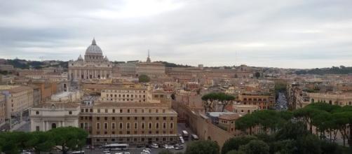 Panorámica de Roma y Vaticano.