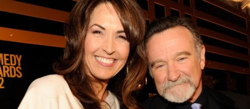 Robin Williams y su esposa, Susan