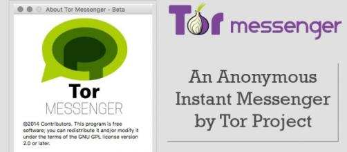 Un logo della chat Tor messenger