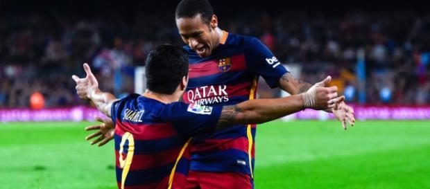 Neymar y Suárez siguen su buena racha.
