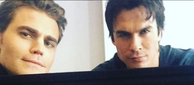 Vampire Diaries-Star Paul Wesley & Ian Somerhalder