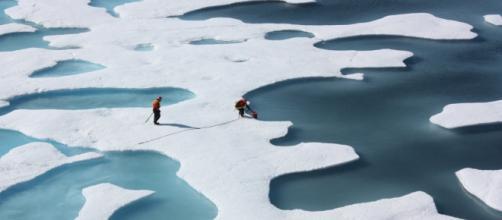 El hielo del Ártico desaparece progresivamente