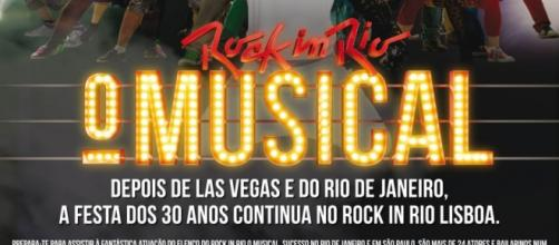 O musical chega à Cidade do Rock em 2016.