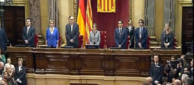 Captura de Pantalla Parlament de Cataluña