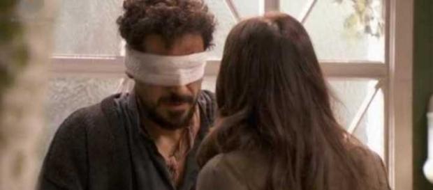 Conrado cieco per colpa di Lesmes